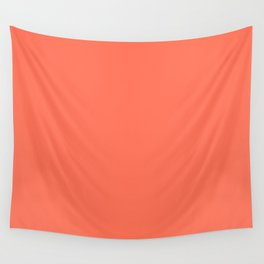 Simply Deep Coral Wall Tapestry