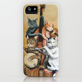 Cat Quartet iPhone Case