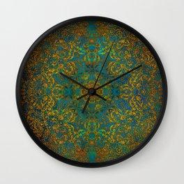 Magic 1 mandala #mandala #magic Wall Clock