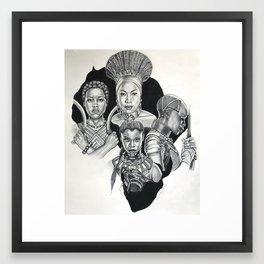 The Women of Wakanda Framed Art Print