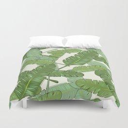 Banana Leaf Print Duvet Cover