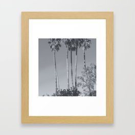Beautiful Vintage Palms #society6 #beach Framed Art Print