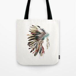 native headdress Tote Bag