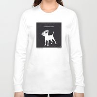 snatch Long Sleeve T-shirts featuring No079 My Snatch minimal movie poster by Chungkong