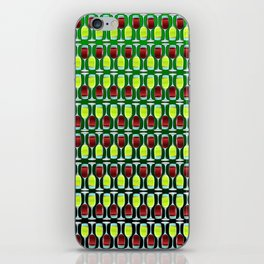 Wine Glasses Of Red And White iPhone Skin