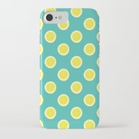 lemon iPhone & iPod Cases featuring lemon by Panic Junkie