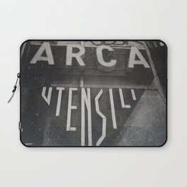 Bologna B&W Street Photography Vintage Shop Sign Laptop Sleeve