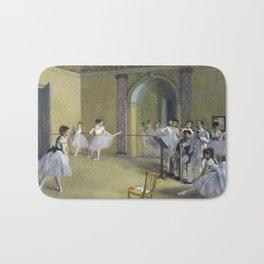Edgar Degas - The Dance Foyer At The Opera Bath Mat