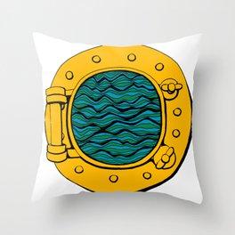 A sea inside Throw Pillow