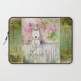 Westie Love ~ West Highland Terrier Laptop Sleeve