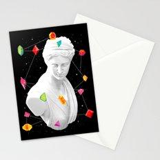 Geometric Gods II Stationery Cards