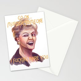 Murder She Wrote Stationery Cards