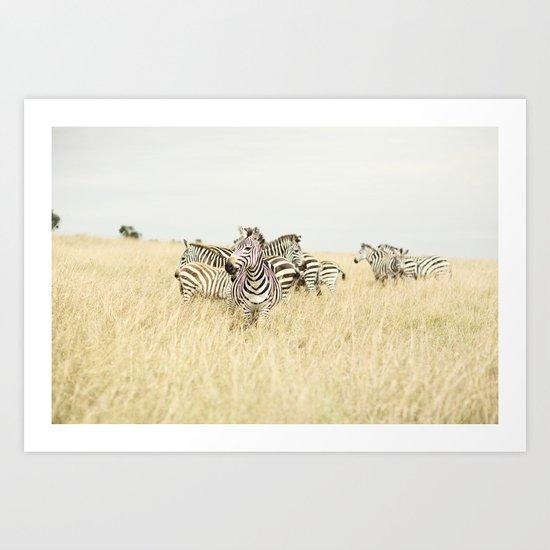 leader::kenya Art Print