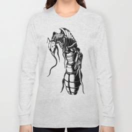 Aardvark Ant Long Sleeve T-shirt