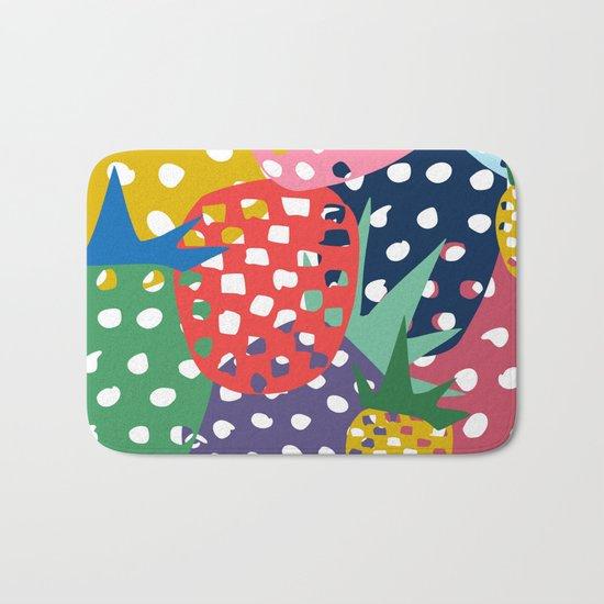 pineapple mix Bath Mat