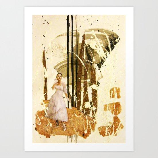Wait Art Print