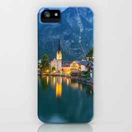 Hallstatt Village, Alps iPhone Case