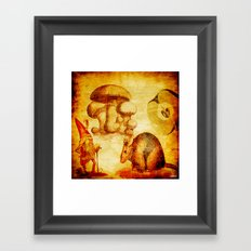The sprite and the mouse Framed Art Print