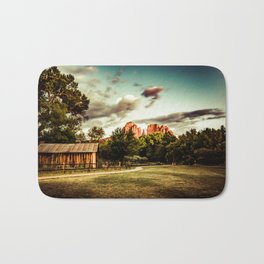 Southwest Chimney Rock Vortex Sedona Arizona Bath Mat