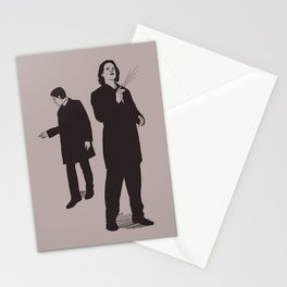 Agents Sam and Dean Stationery Cards