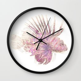 Lets draw a Lionfish Wall Clock