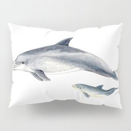 Bottlenose dolphin Pillow Sham