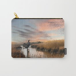 Sunset in the Wetlands Carry-All Pouch