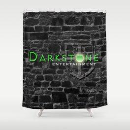 Darkstone Logo Shower Curtain