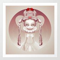 Wonderlost - Queen of Hearts Art Print