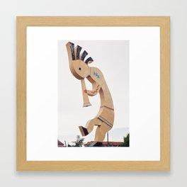 World's Largest Kokopelli Framed Art Print