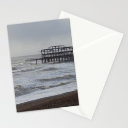 West Pier Wreckage Stationery Cards