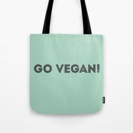 GO VEGAN! Tote Bag