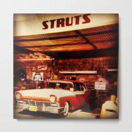 STRUTS Metal Print