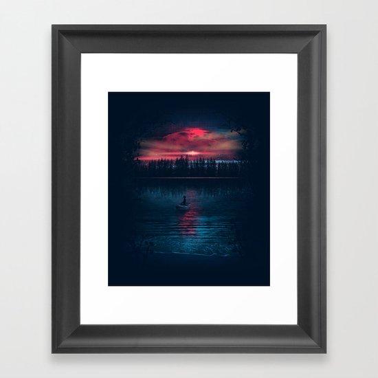 The World Beneath Framed Art Print