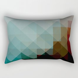 vier Fier | playing with pixels Rectangular Pillow