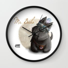 Mr. Bubo Wall Clock