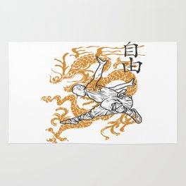 Shaolin Monks Rug