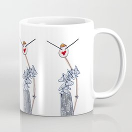 LOVELY IN LACE Coffee Mug