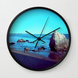 Malibu Beach Life  Wall Clock