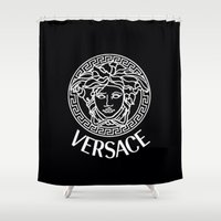 versace Shower Curtains featuring Versace by I Love Decor