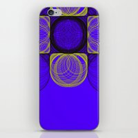 lee pace iPhone & iPod Skins featuring spirals pace by Gaspart