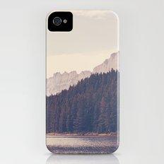 Morning Mountain Lake Slim Case iPhone (4, 4s)