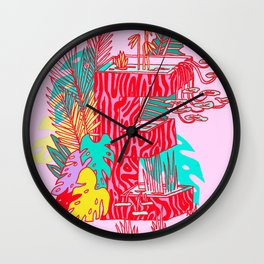 Jungle Fever E Wall Clock