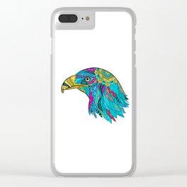 Aigle royal II Clear iPhone Case