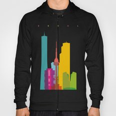 Shapes of Seoul accurate to scale Hoody