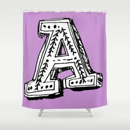 A is for... Shower Curtain