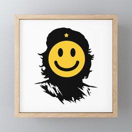 Smiley Che Framed Mini Art Print