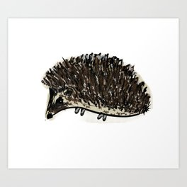 Mr. Prickles Art Print