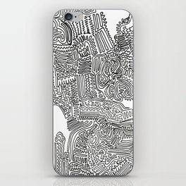 Squigglies iPhone Skin