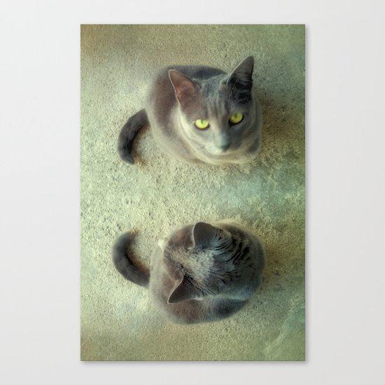 Double Love Canvas Print